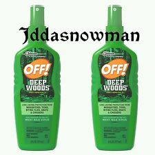 2 OFF! Deep Woods Insect Repellent VII 6 Fluid Ounces *Free USPS Shipping*