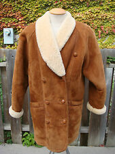 Women's Genuine Sheepskin Shearling Coat - Size Small - By Danier