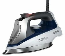 New Black & Decker Clothes Steam Iron Stainless Steel Allure