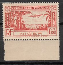 NIGER TIMBRE COLONIE PA FRANCE  NEUF N° 5 **  AVIATION
