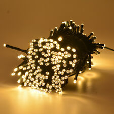 200/300 LED String Fairy Light Solar Powered Xmas Party Wedding Garden Outdoor