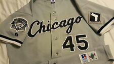 Michael Jordan Chicago White Sox Russell Athletic Authentic Jersey Bulls Size 48