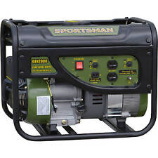 Sportsman Gasoline 2000W Watt Portable Generator Gas Powered Remote Emergency