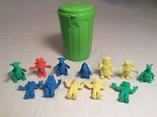 RARE Vintage Bandai Can Full Of Monsters Lot W/ Can Ultraman Kaiju Monster Toss