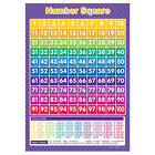 A3 Number Square Poster Educational Learning Teaching Resource
