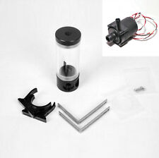 Cylinder 140 Reservoir Water Tank Plus Water Pump For PC Liquid Water Cooling