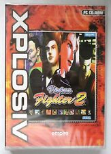 VIRTUA FIGHTER 2 PC CD-ROM ARCADE FIGHTING GAME from SEGA brand new & sealed UK