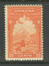 Canada #E3, 1927 20c Special Delivery - Confederation Mail Transport, Unused NH