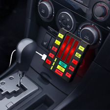 IITI-KR: Knight Rider K.I.T.T. USB Car Charger with 2 x USB Out (Light & Sound)
