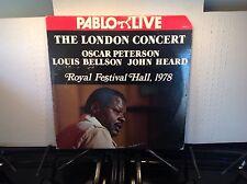 OSCAR PETERSON -London Concert 1978 ~ PABLO 111 {2 lp's} [orig] w/Bellson - RARE