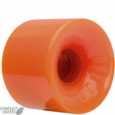 "OJ III ""Hot Juice"" 60mm Skateboard Wheels ORANGE 78a 1970s Cruise Old Skool OJs"
