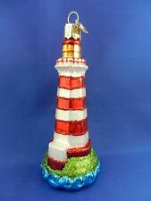 Sambro Lighthouse Halifax Nova Scotia Old World Christmas Ornament NWT 20079