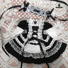 1/6 BJD Dress YOSD Maid Dress set Dollfie AOD Pullip Clothing dress Lolita skirt