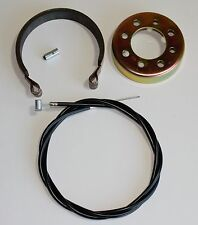 "Mini Bike Kart  ATV Brake Band KIT Cart 4"" BAND DRUM & CABLE"