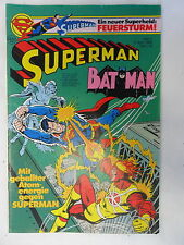 1 x Comic - Superman Batman  mit  Sammel Ecke    Nr.7    (Apr 1980)   Z. 1-2
