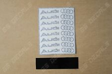 8x Audi Logo Alt Superior Cast Vinyl Wheel Rim Decals Stickers Alloy *11 Colours