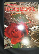 1985 ROSE BOWL OFFICIAL PROGRAM PARADE - USC TROJANS VS OHIO STATE BUCKEYES
