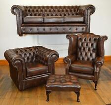 Cambridge Chesterfield suite Made in England 3 colours