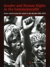 May, 2005, Gender and Human Rights in the Commonwealth: Some Critical Issues for