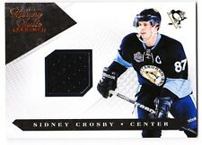 Sidney Crosby 2011 Panini Dominion #56 Luxury Suite Game Worn Jersey #'d 391/599