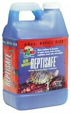 Zoo Med ReptiSafe Water Conditioner, 64 oz , New, Free Shipping