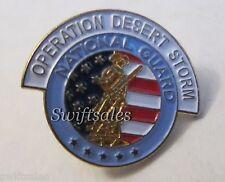 Operation Desert Storm National Guard Enamel Lapel Pin