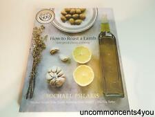 How to Roast a Lam, new greek classic cooking, 2009, cook book, Signed!!!!!