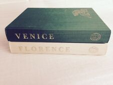 THE BIOGRAPHY OF A CITY, VENICE & FLORENCE BY CHRISTOPHER HIBBERT FOLIO SOCIETY