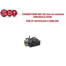 CONNETTORE MIC HSJ 1102-01-5400320 ORIGINALE ICOM PER IC-W21/F10/E91 E SIMILARI