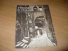 RIVISTA TURISMO D'ITALIA LIBRERIA DEL LITTORIO N.5 1930 ANAGNI MARINA MERCANTILE