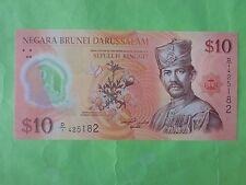 Brunei $10 Polymer 2011 (UNC) D/1 425182