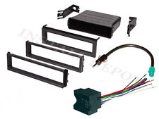 COMPLETE RADIO INSTALL KIT VW JETTA PASSAT DASH KIT WIRE HARNESS ANTENNA ADAPTER