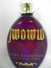 AUSTRALIAN GOLD JWOWW NATURAL BLACK BRONZER INDOOR TANNING BED LOTION FAST SHIP