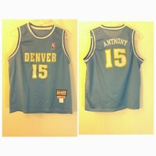 DENVER NUGGETS CARMELO ANTHONY NBA BASKETBALL JERSEY MITCHELL AND NESS YOUTH XL