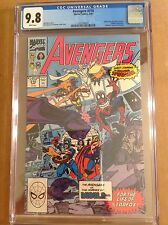 CGC 9.8 Avengers #316 Spidey joins Avengers Civil War