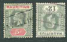 MAURITIUS (13481): TRAVELLING POST OFFICE postmark/cancel