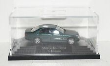 Wiking Mercedes-Benz S-Klasse W220 grünmetallic 1:87 in PC + OVP