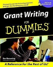 Grant Writing For Dummies _ Business  Non profit Fundraising Scholarship NEW!