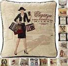 """Tapestry Vintage Cushion Covers 18""""x18"""" ~ 25 Various Designs"""