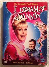 I Dream of Jeannie-The Complete First Season (PV DVD, 2006, 4-Disc Set, Color)