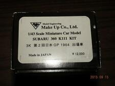 MAKE UP 1/43 SUBARU 360 K111 DETAIL METAL KIT JAPAN GP