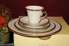 Lenox Solitaire 5 Piece Place Setting New in Box USA 1st Q 140290120