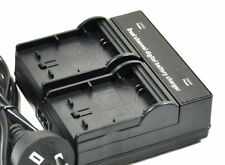 new 2pcs Battery + Dual Charger for NP-F330 NPF330 NP-F970 DCR-TV900E CCD-TR317