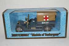 "Matchbox ""Models of Yesterday"": 1918 Crossley RAF Tender Y-13"