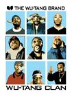 "THE WU - TANG CLAN POSTER ""BRAND NEW"" 61cm X 91.5cm"