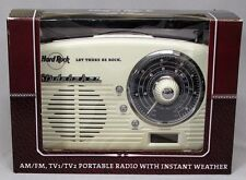 Vintage Hard Rock Cafe Let There Be Rock Studebaker Portable Am-Fm Radio NOS