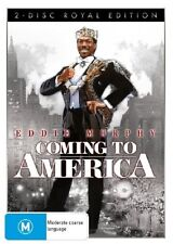 Coming To America (DVD, 2007) region 4 (Royal Edition) 2 DvD set