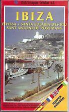 Map of Ibiza, Spain by distimaps telstar