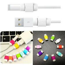 50pcs Charging Cable Protector Saver Lightning Saver Protective for iPhone iPad