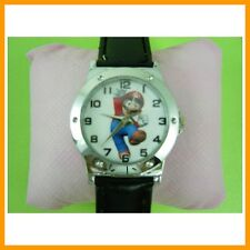 Super Mario Bros. Men Boy Women Girl Kids Fashion Quartz Wrist Watch + GIFT